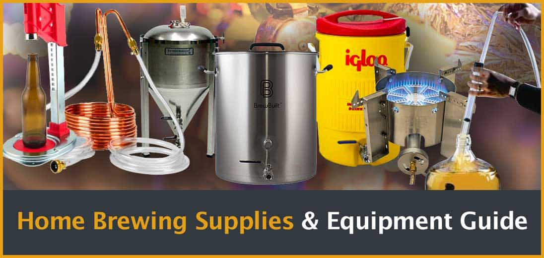 Home Brewing Supplies & Equipment Guide