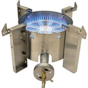 A floor burner