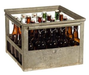 crate of beers