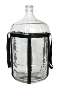 Kegco 5 gallon glass carboys with straps