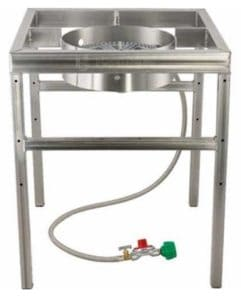 beer brewing stand