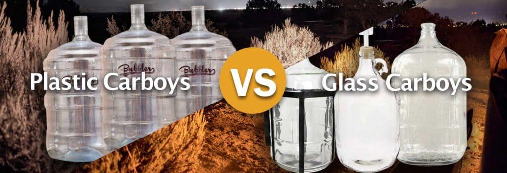 Plastic vs. glass carboys