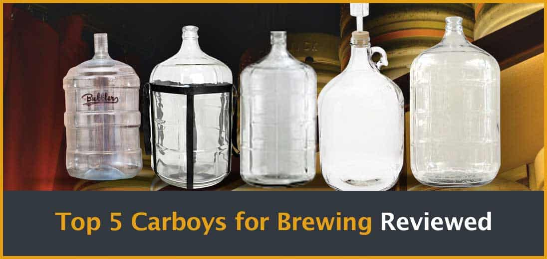 Top 5 Carboys for Brewing Reviewed