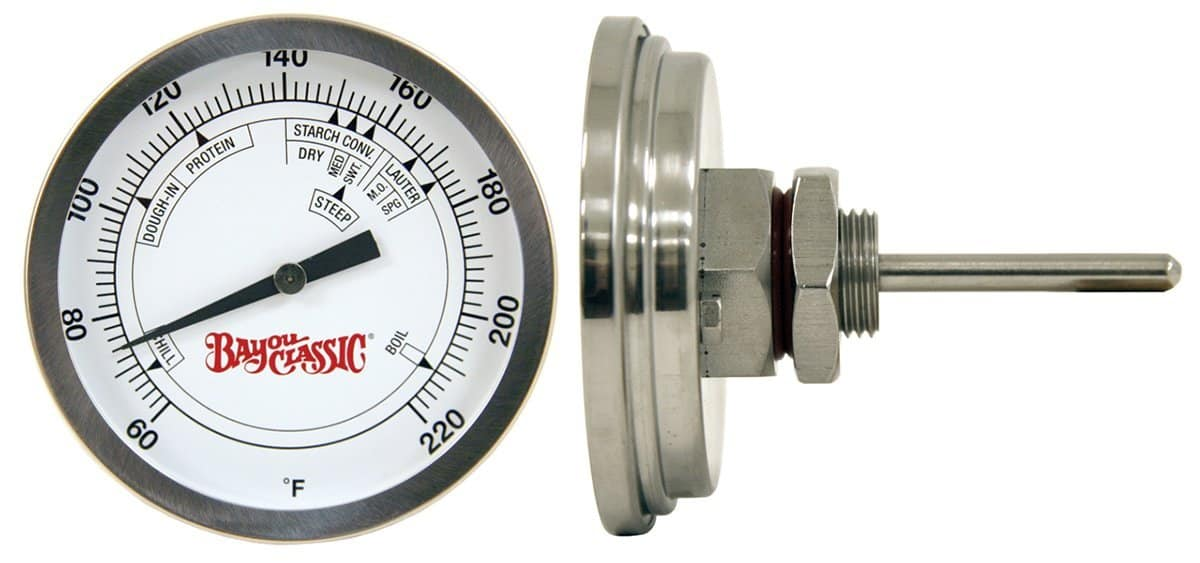 Limited Edition Northern Brewer Craft Beer Making Gift Set. Equipment. Dial thermometer with 3
