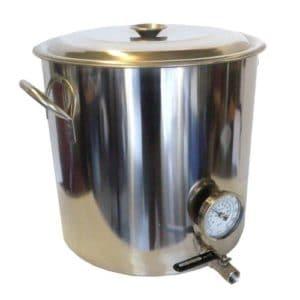 HomeBrewStuff steel kettle