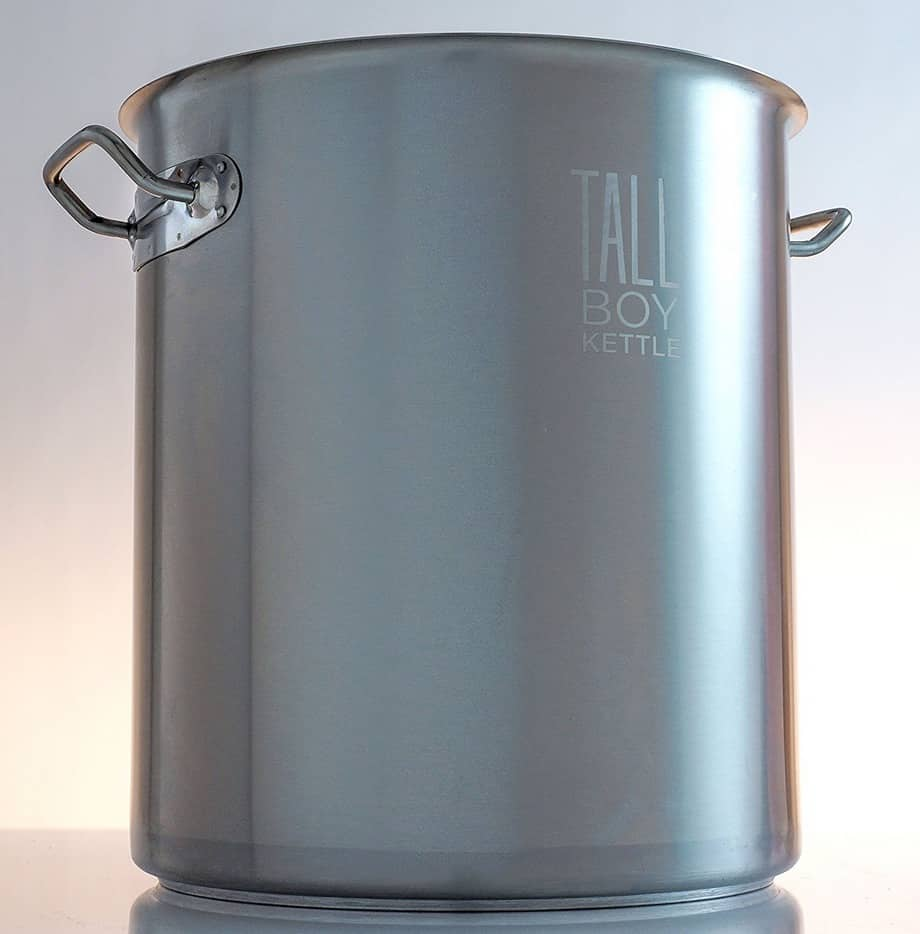 A big steel pot