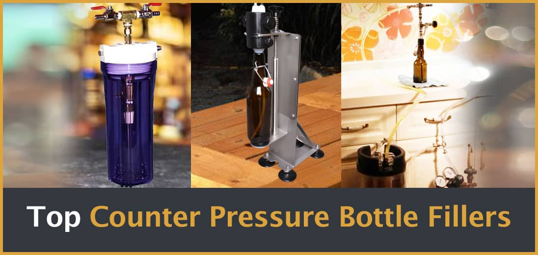 What's the Best Counter Pressure Bottle Filler? The Top 3 Models Reviewed