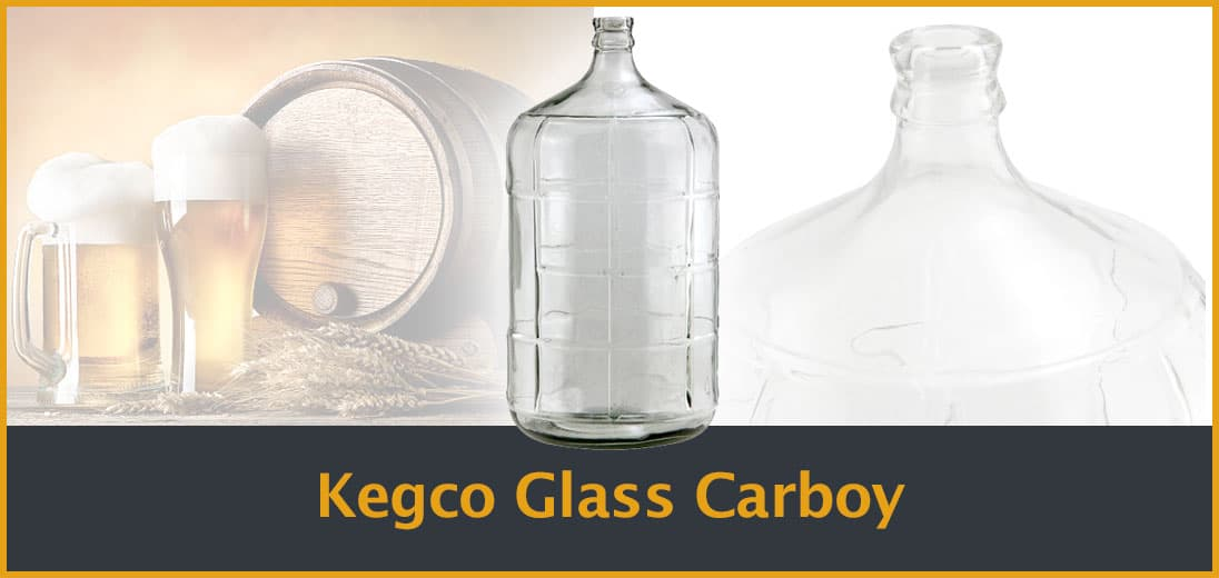Kegco Glass Carboy