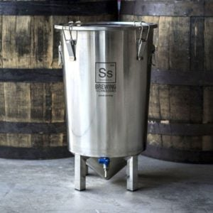 beer fermentation tanks