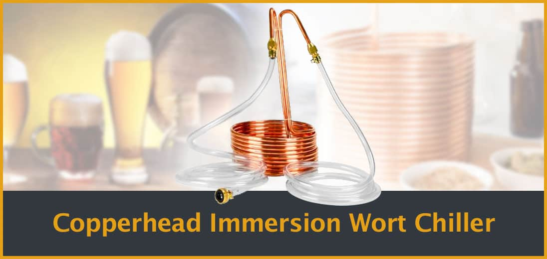 Copperhead Immersion Wort Chiller