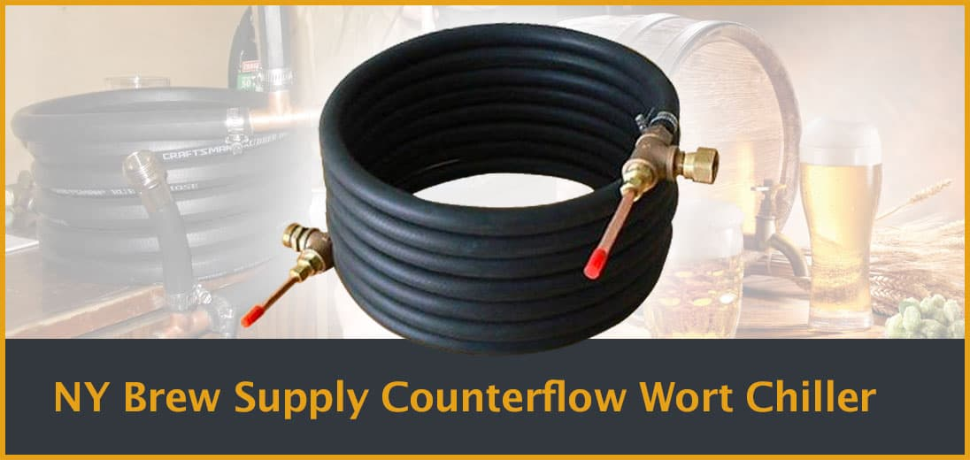 NY Brew Supply Counterflow Wort Chiller