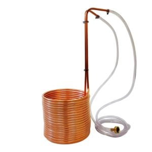copper immersion wort chiller by NY Brew Supply