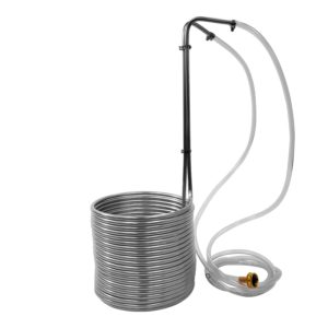 Stainless Steel Immersion Wort Chiller by NY Brew Supply