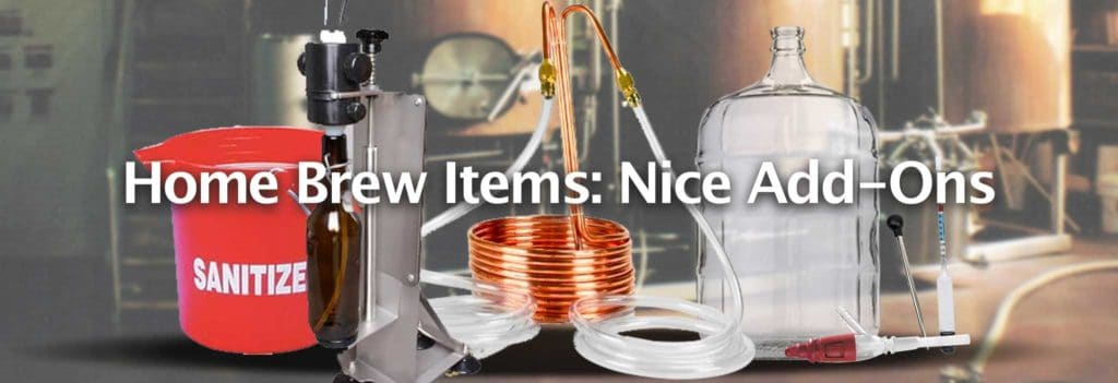 Beer Making Kit Add-Ons (Nice-to-Have Items)