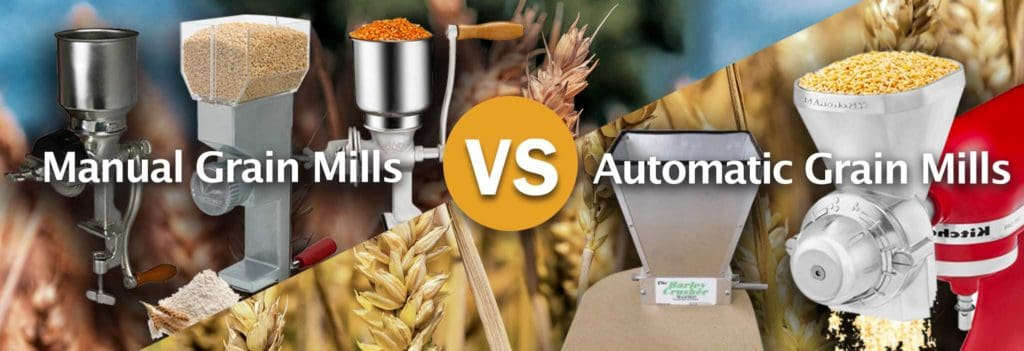 Manual-Grain-Mills-vs.-Automatic-Grain-Mills