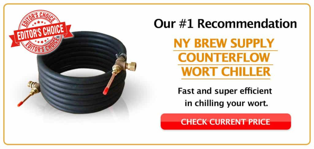 NY-Brew-Supply-Counterflow-Wort-Chiller Editor Choice