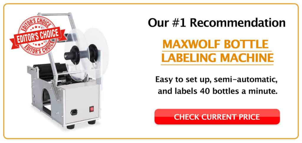 5 Best Bottle Labeler Machines (2019 Review) Our TOP Picks!