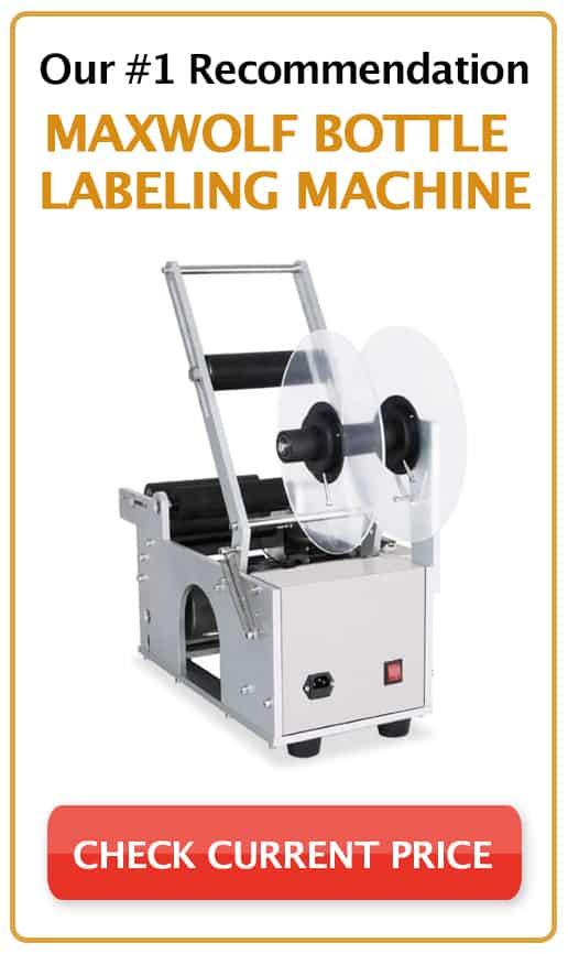 Maxwolf Bottle Labeling Machine
