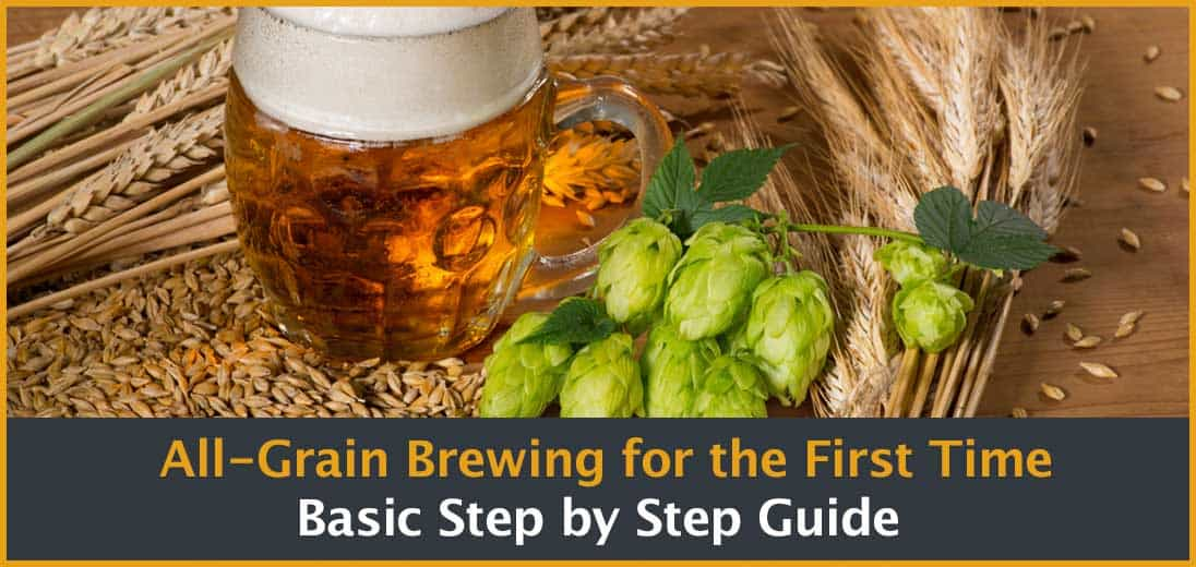 Grain brewing step by step