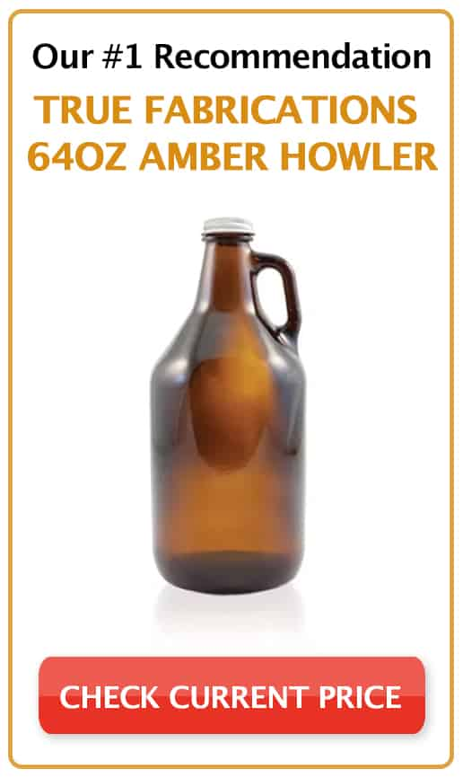 True Fabrications 2794 64Oz Amber Howler Growler_sidebar