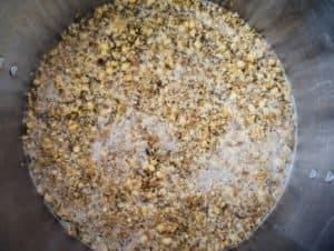 grain mashing