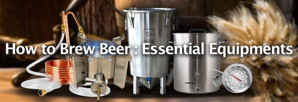 Brewing Beer Essential Equipments