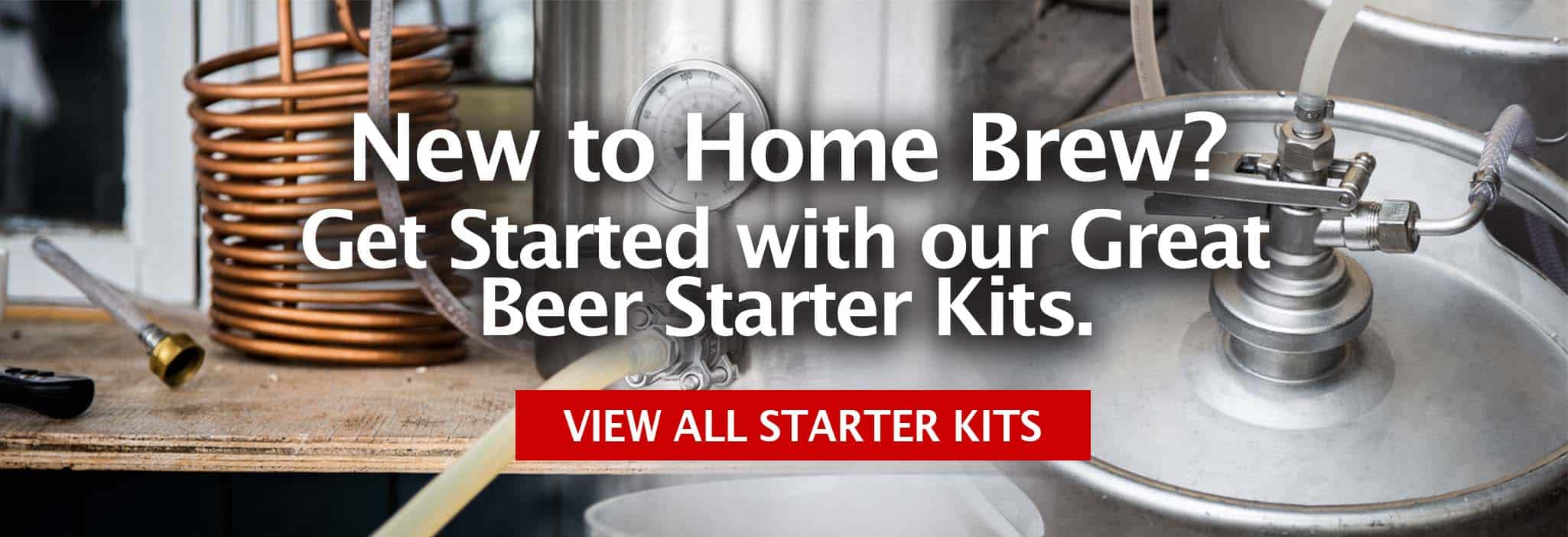 Beer Making Starter Kits