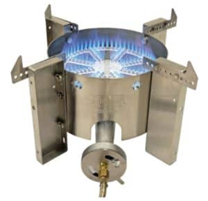 The burner made by Blichmann