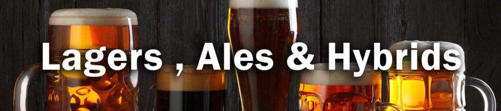 Lagers, ales and hybrids