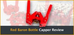 Red Baron Bottle Capper Review