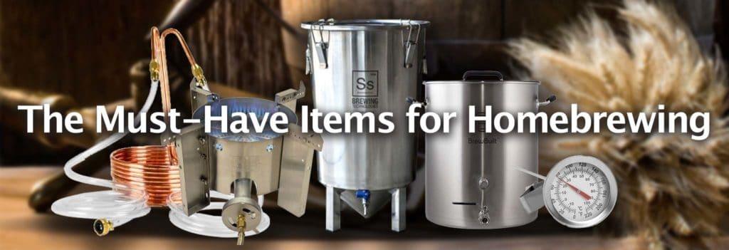 Brewing Beer Essential Equipment