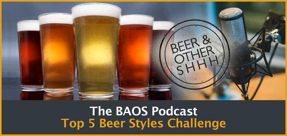 Top 5 Beer Styles Challenge