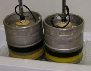 homebrew beer kegs