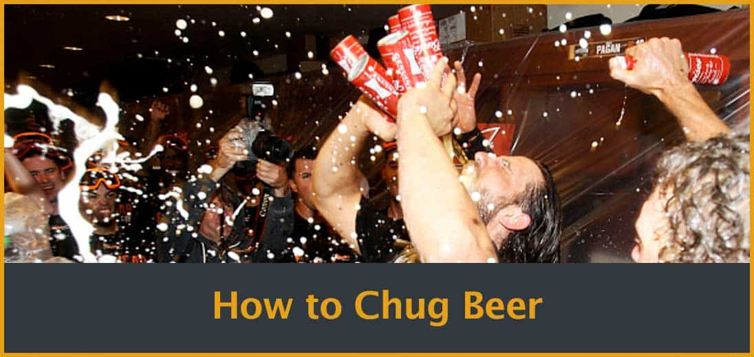 How to Chug Beer