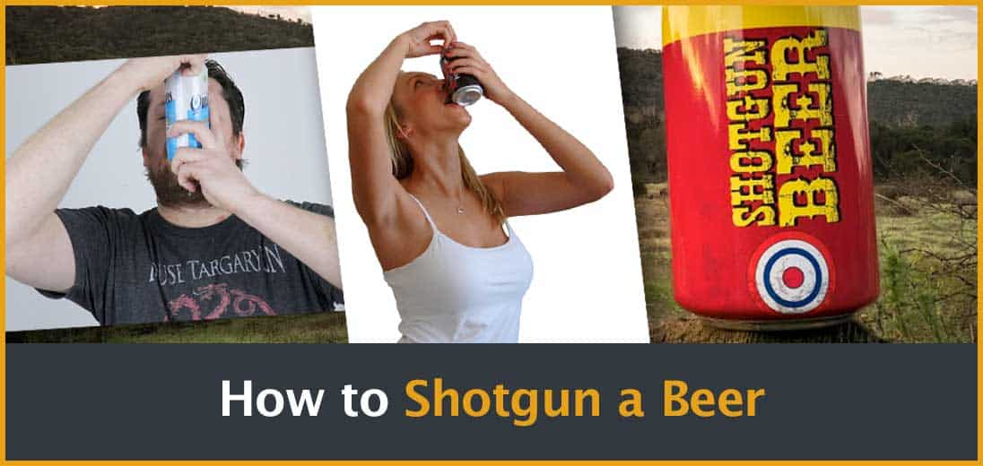 How to Shotgun a beer