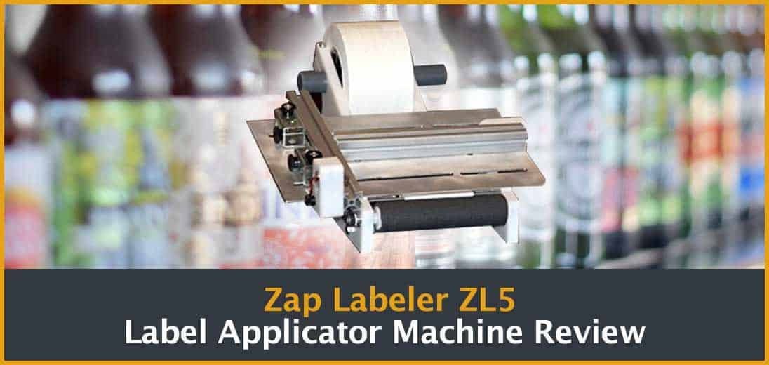 Zap Labeler ZL5 Label Applicator Machine Review