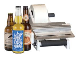 branded bottle beers and the labeler