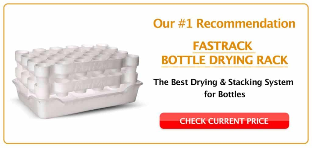 FastRack Bottle Drying Rack Bottom CTA