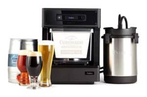 Homebrewing machine set