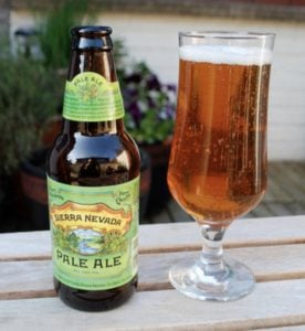 Sierra Nevada Pale Ale as the best beer