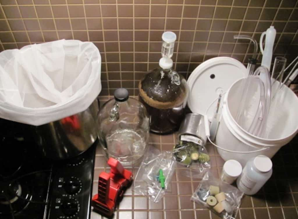 equipments for home brewing
