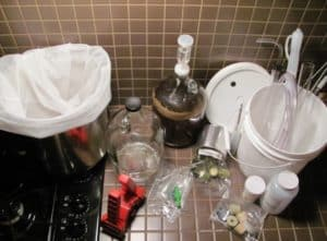 equipment for homebrewing
