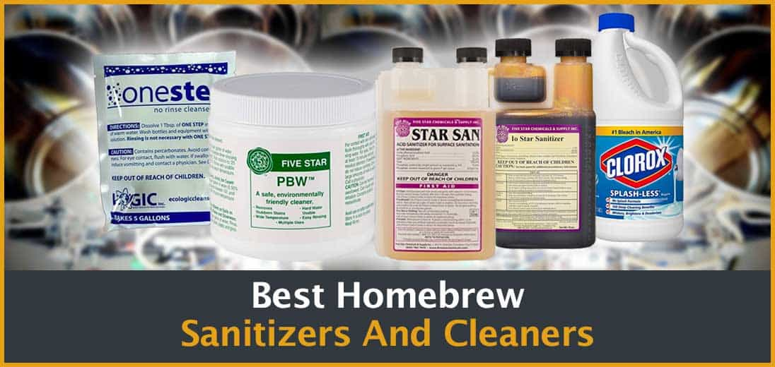 Best Homebrew Sanitizers And Cleaners Cover Image