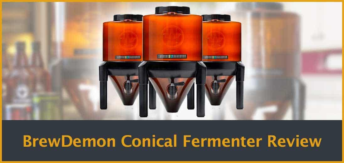BrewDemon Conical Fermenter Review Cover Image