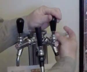dettached keg line