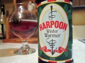 Harpoon Winter Warmer seasonal beer