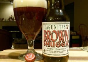 Lagunitas Brown Shugga winter beer