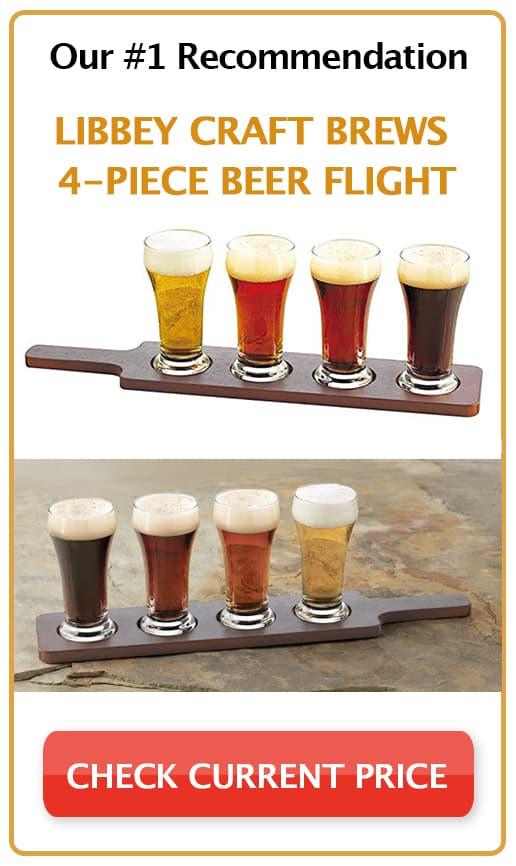 Libbey Craft Brews 4-Piece Beer Flight Sidebar