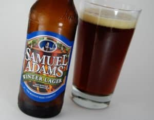 Sam Adams Christmas beer