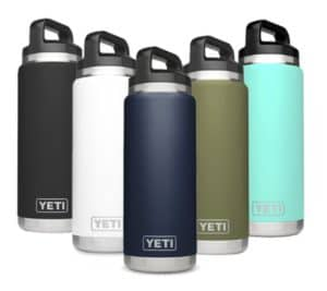 Colored Yeti ramblers